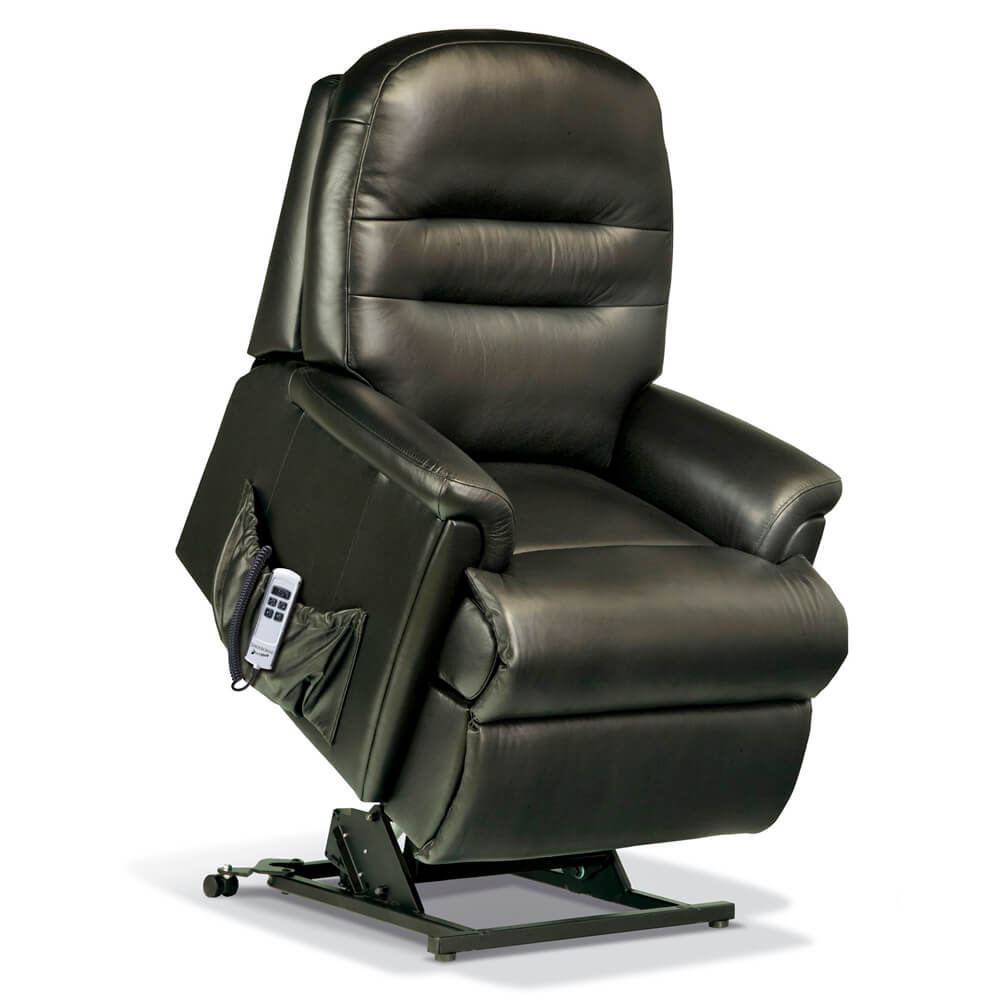 Sherborne Keswick Petite Leather Lift & Rise Chair