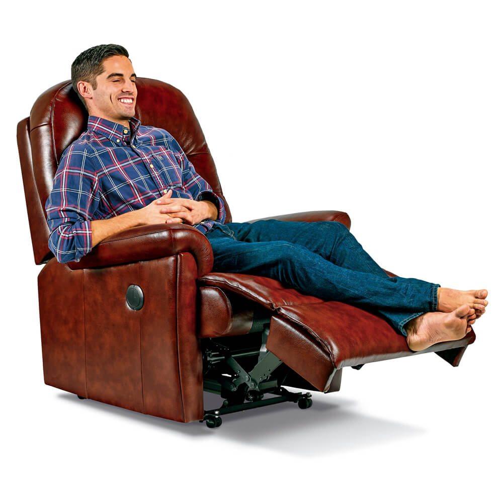 Sherborne Keswick Standard Leather Recliner Chair  sc 1 st  Mobility Devon & Sherborne Chairs Sofas u0026 Recliners islam-shia.org
