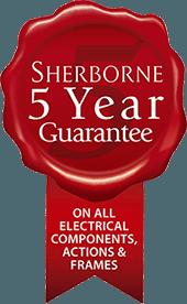Sherborne Upholstery 5 Year Guarantee